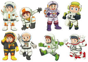 Explorum Extracurricular in French - Kid astronauts
